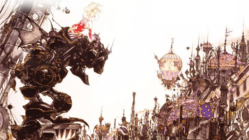 Illustration for article titled Readers share Final Fantasy memories, and we reveal our E3 questionnaire
