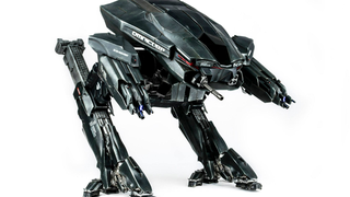 Illustration for article titled The Robocop Reboot's ED-209 Is Now An Excellent Figure