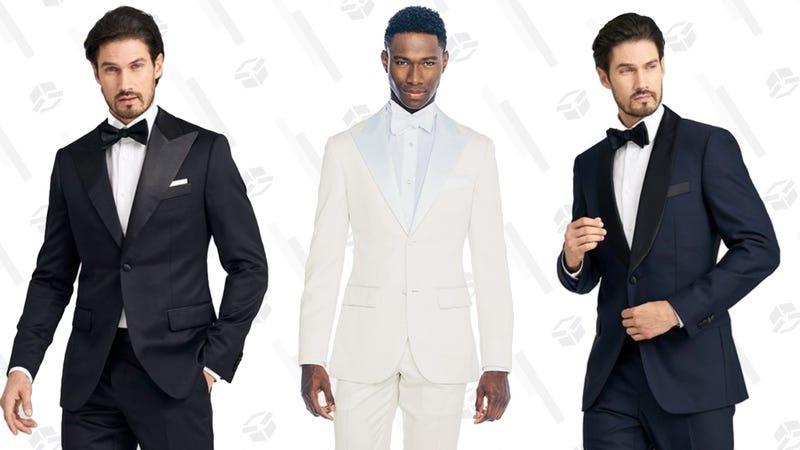 Custom Tuxedos | $449 | Indochino | Promo code TUXEDO