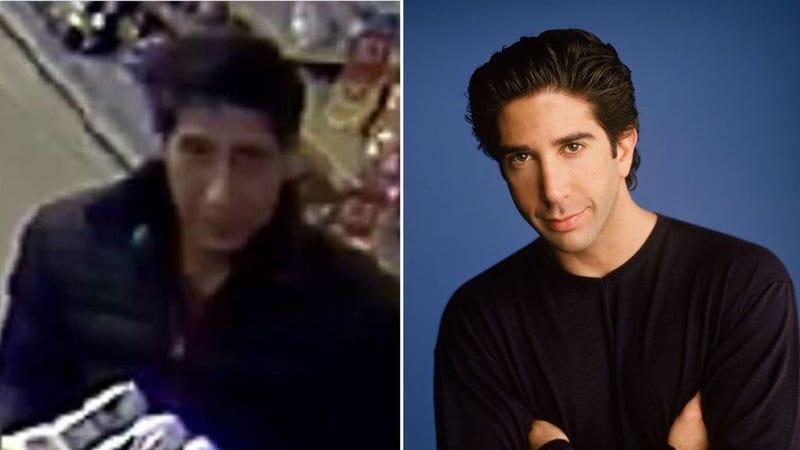 Illustration for article titled Este ladrón se parece tanto al personaje de Ross en Friends que la policía ha tenido que descartar al actor