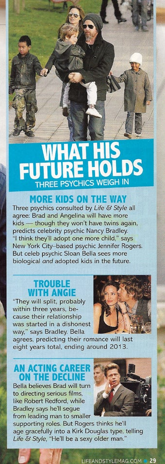 This Week In Tabloids: Brad's Looking For Jen