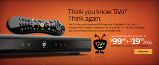 Illustration for article titled Tivo Premiere Box Is Free (with Two-Year $20 Monthly Subscription)