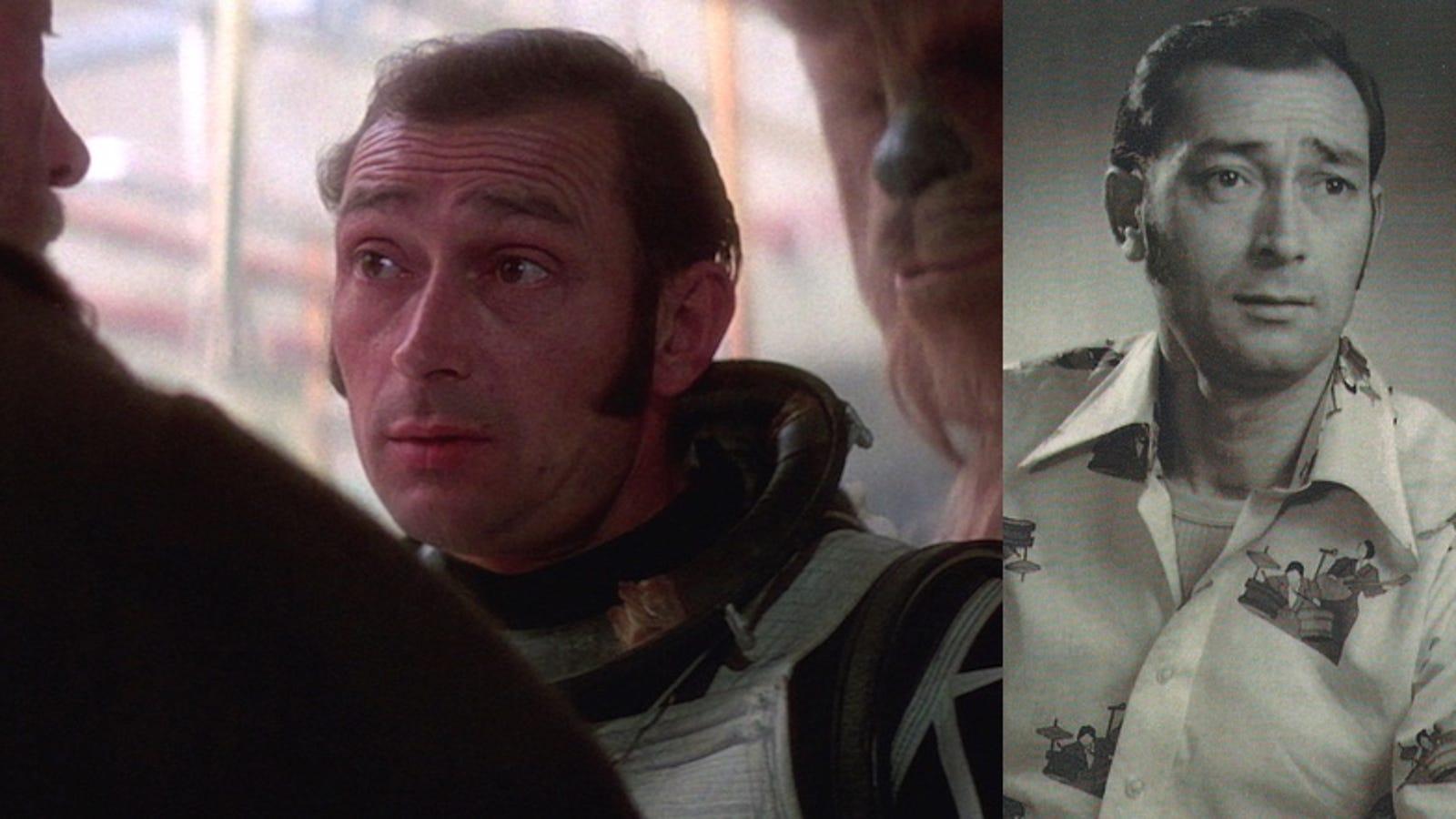 Resuelto uno de los pocos misterios que le quedaban a Star Wars: quién es este hombre