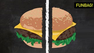 Illustration for article titled Don't Cut Your Hamburgers In Half
