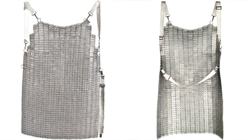 Illustration for article titled Become a Knight of the Round Dinner Table With this Chain Mail Apron