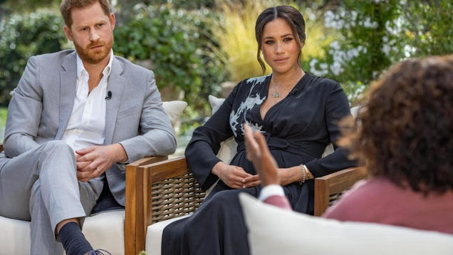 How to Watch Oprah Interview Prince Harry and Duchess Meghan