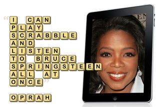Illustration for article titled Oprah's Favorite iPad Apps