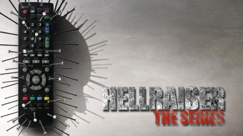 Illustration for article titled Hellraiser: The TV Show might be a thing pretty soon