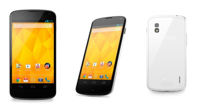 Illustration for article titled This Is LG's White Nexus 4--But It Won't Make Another Google Phone