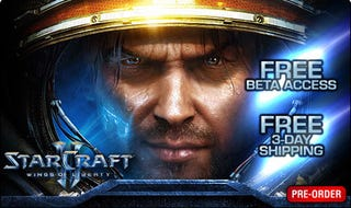 Illustration for article titled GameStop Has Your StarCraft II Beta Invite