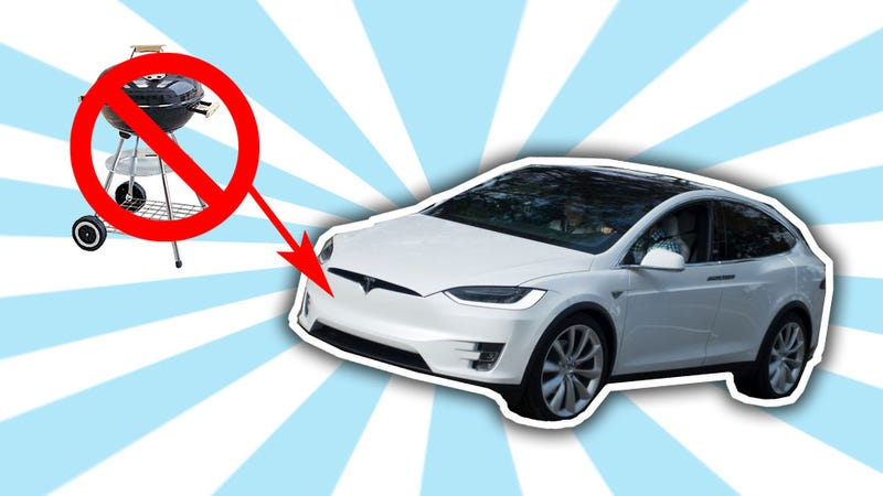 Illustration for article titled Good On Tesla For Making The Model X Grille-Less