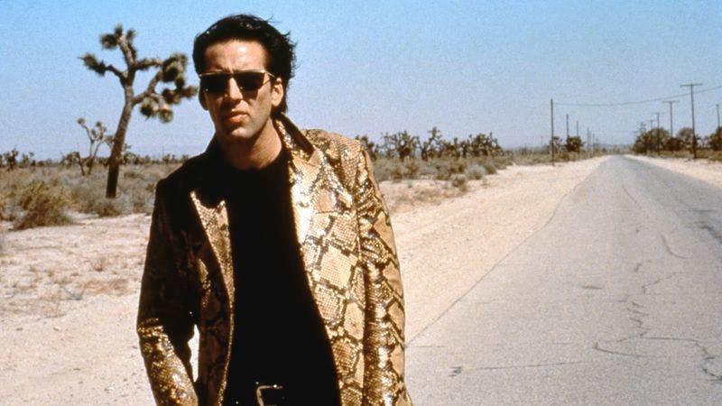 Nicolas Cage on the set of Wild At Heart (Photo: Sunset Boulevard/Corbis via Getty)