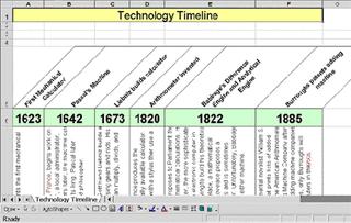 how to make a timeline