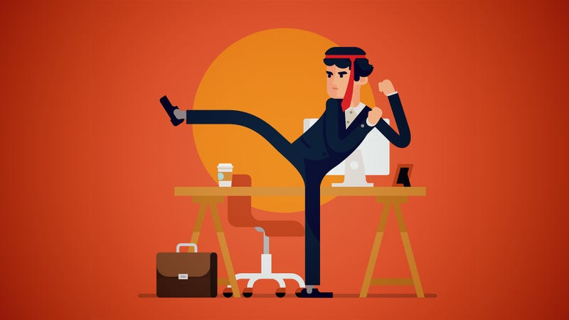 Illustration for article titled Four Signs You Should Fix Your Current Job Instead of Quitting