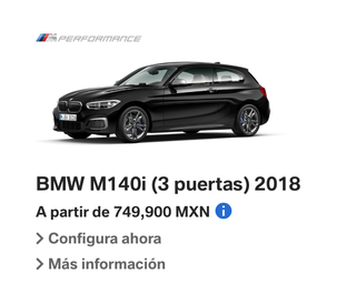 Illustration for article titled Reminder: You can get a rear wheel drive, 340HP turbo straight six  BMW hatchback in Mexico for about the same price as a VW Golf R in the U.S.A.