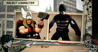 Illustration for article titled A Look At The Marvel Fighting Game That Never Was
