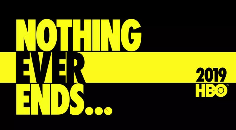 The teaser poster for HBO's Watchmen.