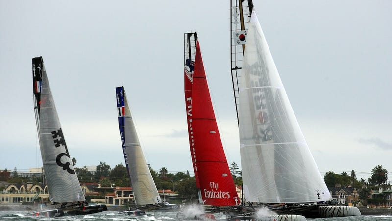 Illustration for article titled NASCAR At Sea: How The America's Cup Evolved, And Why It's Good For The Sport