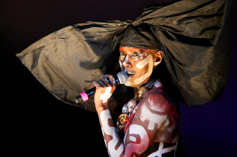 Grace Jones performs on day 4 of Festival No. 6 on Sept. 6, 2015, in Portmeirion, Wales.Claire Greenway/Getty Images