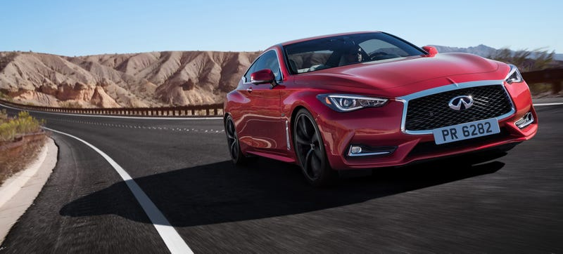 Illustration for article titled The 2017 Infiniti Q60 Will Start At $38,950