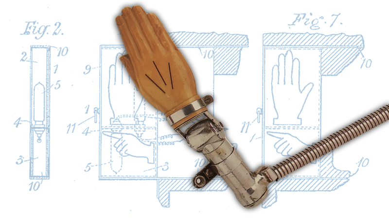 Illustration for article titled I'm Pretty Sure This Mysterious Mechanical Hand Is The Holy Grail Of Turn Signals