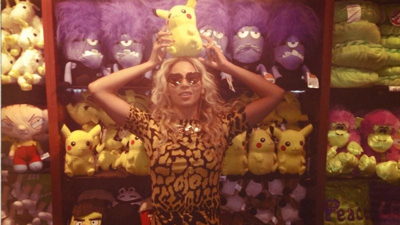 Illustration for article titled When Pikachu dances to Beyoncé, everyone wins