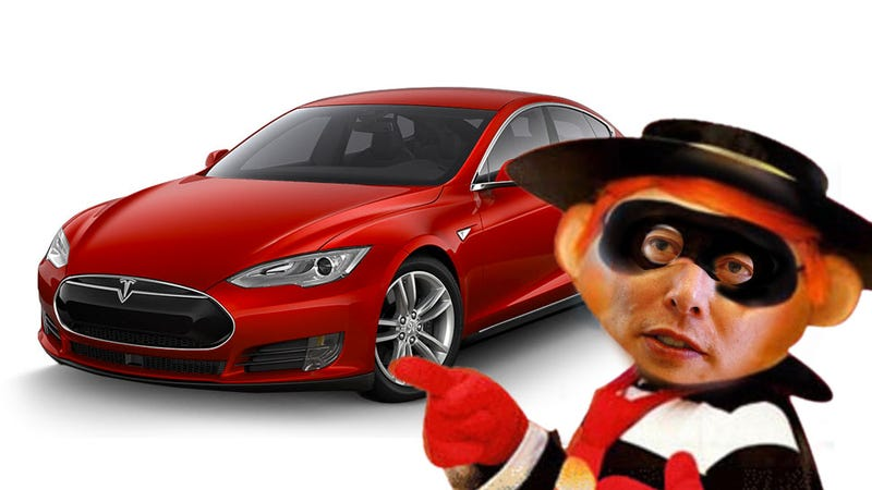 Illustration for article titled No, Elon Musk Did Not Really Steal This Guy's Tesla