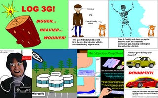Illustration for article titled MS Paint Gadget Fantasies are as Twisted as They are Unlikely