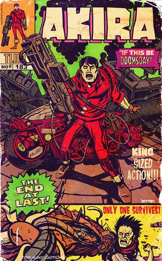 Illustration for article titled What If Jack Kirby And Stan Lee Had Created Akira?