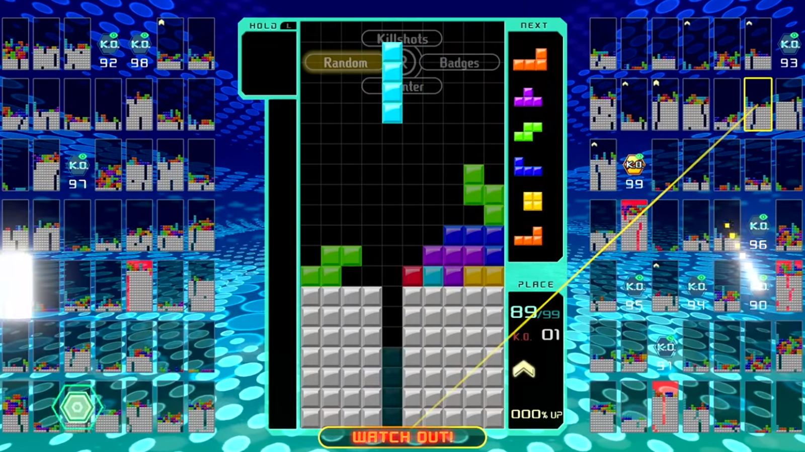 Tetris 99 Has No Tutorial, So Here's What You Need To Know