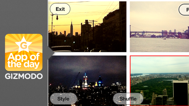 Illustration for article titled Mixel: Make Instant Collages From Your iPhone Pics