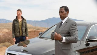 Philip Winchester and Wesley Snipes in The Player on NBC. Snipes is one of several black stars appearing in major roles in the upcoming season.