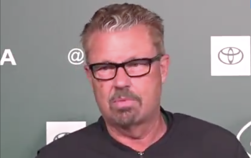 Illustration for article titled Gregg Williams Gradually Turns Into Giant Pile Of Salt When Asked About Odell Beckham Jr.