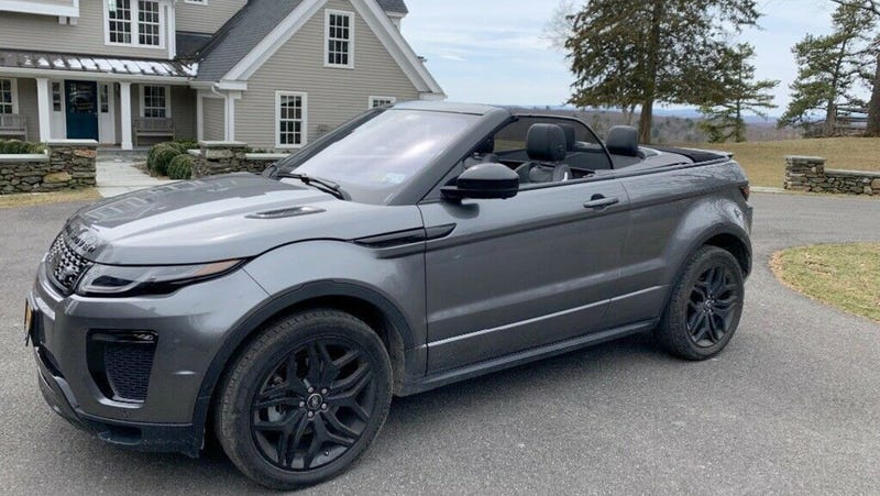 Illustration for article titled At $53,000, Could This 2017 Land Rover Evoque Make You Woke?
