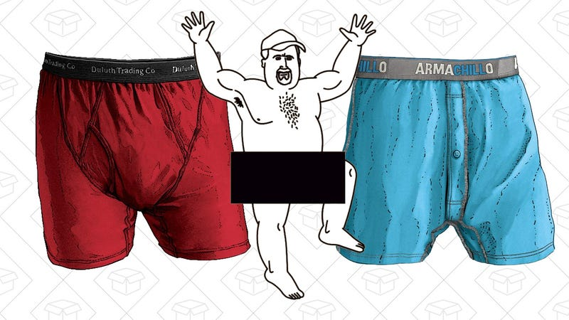 Duluth Trading Co. Buck Naked and Armachillo Underwear | 25% off $100+ orders with code 25JOLLY