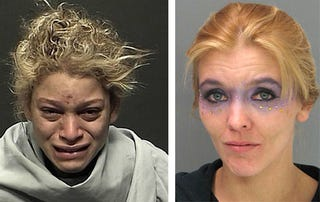 Illustration for article titled Beauty Queen Vs. Fire Dancer: Who Has The Better Mugshot?