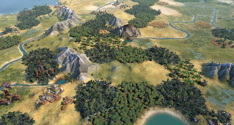 Civilization Artist Gets Civ VI Looking Like Civ V