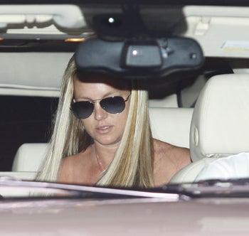 Illustration for article titled Britney Gets In Fender Bender
