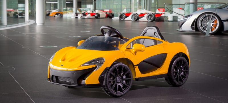 McLaren Beats Apple To The Punch, Releases Electric Car First