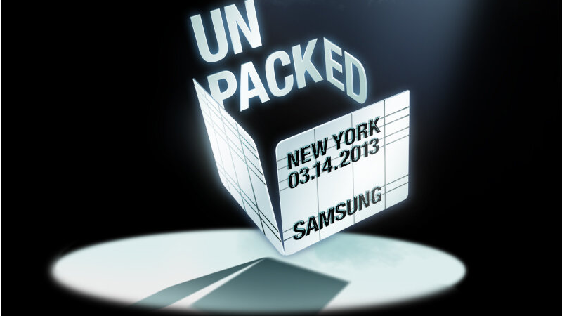 Illustration for article titled Samsung Confirms the Galaxy IV's Coming March 14th