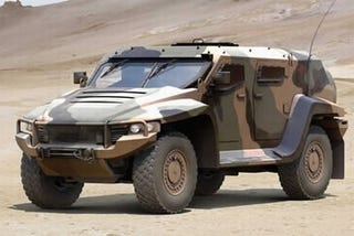 Illustration for article titled Thales Hawkei: New IED-Resistant Face Of Aussie Military