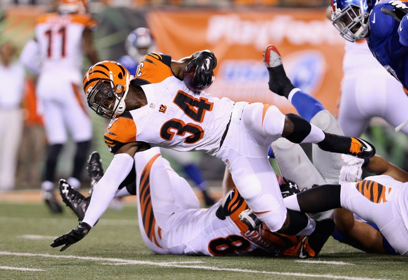 Illustration for article titled Bengals Running Back Says He Was Racially Profiled At Toys R Us