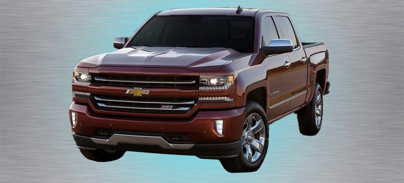 Illustration for article titled Report: Chevy's Gonna Start Making Aluminum Trucks Too