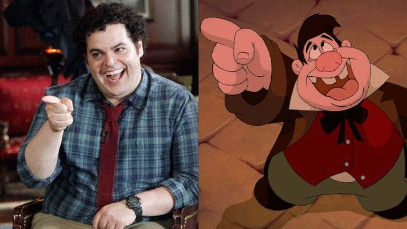 Illustration for article titled Josh Gad joins Disney's live-action Beauty And The Beast