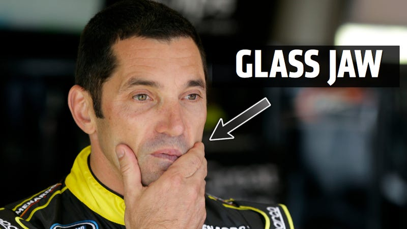 Illustration for article titled Max Papis Claims Angry Girlfriend Dislocated His Jaw With Slap