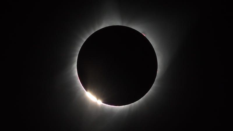 The 2017 solar eclipse.