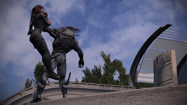Mass Effect Made Itself on Virmire