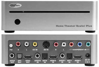 Illustration for article titled Gefen Home Theater Scaler Plus, 1080p Goombas
