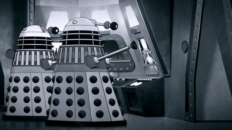 Illustration for article titled Missing Doctor Who Story Power of the Daleks Is Getting an Animated Reconstruction