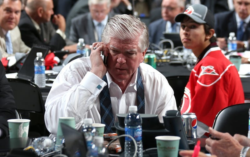 Illustration for article titled After The Maple Leafs Fired Him, Brian Burke Had A Sad Afternoon